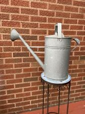 Watering Can Farmhouse Galvanized Tin/Metal Large Country Rustic Flower Vase