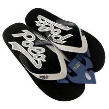 New RALPH LAUREN Black Flip Flops Sandals Slides Shoes Men's UK 9 (EU 43)