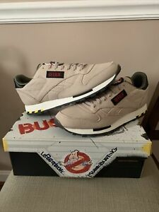 Reebok Classic Leather Ghostbusters Sneakers US 10 Authentic Brand New In Hand