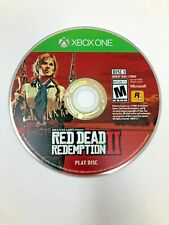 Red Dead Redemption II Microsoft Xbox One - Play Disc (Disc 1) Only - VG - READ