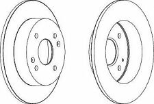 Ferodo DDF1488C Brake Disc Set Solid Coated Rear Axle Replaces 42510S1AE00