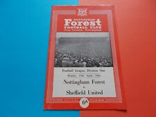 1964-65 Nottm.Forest v Sheffield United Division One