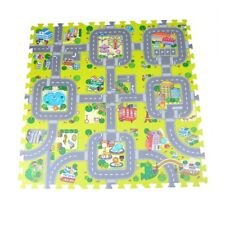 9pcs Traffic Route Kids Soft EVA Foam Puzzle Education Floor Play Mats JR