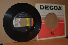 RICK (RICKY) NELSON: DON'T BLAME IT ON YOUR WIFE 1968 DECCA 32284 VG++ NONHIT 45