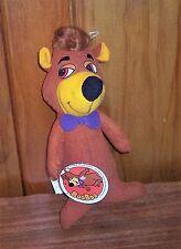Vintage Rare 1980 Boo Boo Yogi Buddy Hanna Barbera Mighty Star Plush & Tag HTF