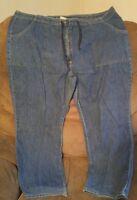000 Women's St. Johns Bay Jeans Size 20W Denim Tie At Waist