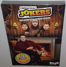 IMPRACTICAL JOKERS COMPLETE SEASON 4 BRAND NEW SEALED R1 DVD