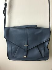 DOROTHY PERKINS BLUE CROSSBODY THIN SATCHEL BAG