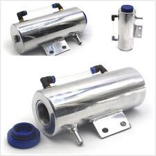 Universal Radiator Coolant Aluminum Catch Tank Overflow Reservoir 500ml Silver