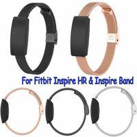 Edelstahl-Armband-Riemen-Armband ersetzen für Fitbit Inspire & Inspire HR (10mm)