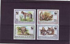 Burundian Animal Kingdom Postal Stamps