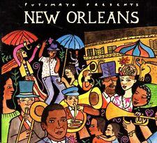 Putumayo Presents New Orleans CD 2005 Digipack