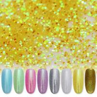 10g/bag Mirror Powder Nail Art Chrome Pigment Glitter Dust Powder  DIY