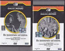 2 Dvd Sceneggiati Rai «HO INCONTRATO UN'OMBRA» di D. D'Anza completa nuovo 1974