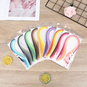 100Pcs/set Paper Quilling Strips Set 3mm 39cm Paper For Craft DIY Quilling T_yk