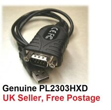 More details for usb to rs232 serial adapter - prolific pl2303hxd - windows 10 8 7 vista