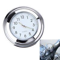Universal Fashion Waterproof 7/8 Motorcycle Bike Handlebar Mount Clock Watch