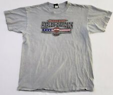 90051bed2940 Harley-Davidson T-Shirt J E H-D Greenville NC Bar   Shield Logo Men s Large