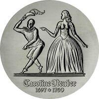 DDR 5 Mark Caroline Neuber 1985 Stempelglanz Gedenkmünze in Münzkapsel