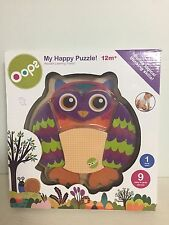 Oops My Happy Puzzle Mr. Wu Owl. New