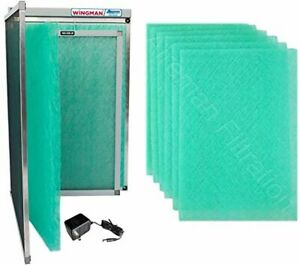 16x25x1 Electronic Air Filter w/Year of Replacement Pads AC Furnace Easy Install