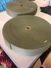 Military Green Spec Webbing Strong Elastic 2 ROLL HUNTING Sewing 100 Yards