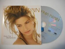 SHANIA TWAIN : FROM THIS MOMENT ON ▓ CD SINGLE PORT GRATUIT ▓