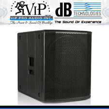 "DB Technologies SUB 618 Active 18"" DJ/Club Subwoofer Class-D 1200W Amplified Sub"