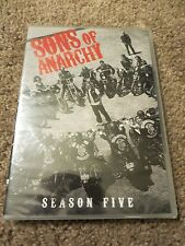 Sons of Anarchy: Season Five (DVD, 2013, 4-Disc Set) BRAND NEW!!  Free shipping!