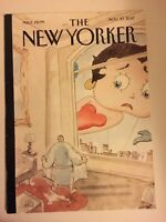 """The New Yorker Magazine - November 27, 2017 (""""Nowhere to Hide"""") Betty Boop Cover"""
