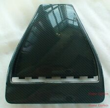 Carbon Fiber Hood Scoop Vent OE Style 1pc Fit For 08-15 Lancer EVO X 10