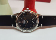 USED 1960 OMEGA SEAMASTER 30 BLACK DIAL CAL:268 MANUAL WIND MAN'S WATCH