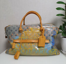 RARE Louis Vuitton Richard Prince Monogram Pulp Weekender GM Bag Keepall Speedy