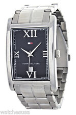 Tommy Hilfiger Men's Black Dial Stainless Steel Watch TH.67.1.14.0760