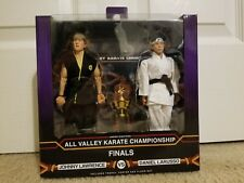 NECA The Karate Kid 1984 Daniel and Johnny All Valley Championship MISB