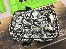 Used Planet Eclipse Paintball Marker Pouch Gun Soft Zipper Case Black White