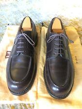 The Golf Derby Shoe, Dark brown novocalf finish calfskin J.M. Weston