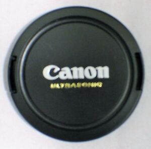 Canon 58mm Snap On Front Lens Cap (Cover-Protector) NEW