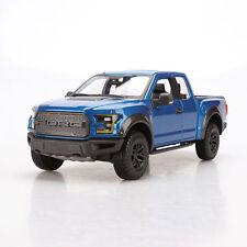 Maisto SE TRUCK 1:24 Scale 2017 Blue Ford Raptor Diecast Model Car