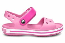 Crocs Crocband Kids Sandali con Cinturino alla Caviglia Unisex - Bambini Rosa