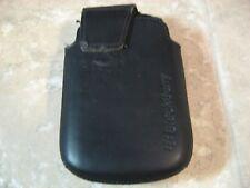 OEM BlackBerry Swivel Holster Pouch Case Bold 9900 9930 - Black
