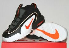 NEW NIKE AIR MAX PENNY LE GS YOUTH Basketball Shoes Black Orange 315519-006 Boys