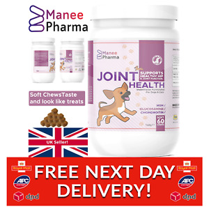 Dog Joint Supplement for Stiff and Older Dogs 60 Chews Pain Relief and Arthritis