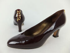 PETER KAISER Vintage Lackleder Pumps 38 5 dunkelrot bordeauxrot Liebhaber Pumps