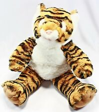 "Build A Bear Tiger Plush Stuffed Animal 17"" Zoo Striped My Little Pony Sound Box"