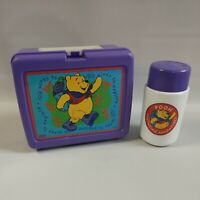 Winnie the Pooh 100 Acres to Explore Lunch Box And Thermos Disney Vintage