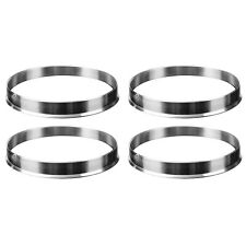 4 x Universal Aluminum Hub Centric Ring Wheel Spacer Set 74.1mm O/D 72.6mm I7Y8