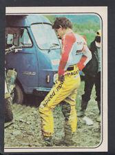 PANINI MOTO SPORT 1979 Etiqueta-no 206 (T538)