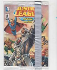 General Mills DC Comics # 8 Justice League Walking on Fire Comic