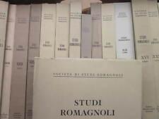 Studi Romagnoli XXIV 1973 - Ravenna - Fratelli Lega Faenza - Romagna